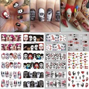 🆕️25pcs Nail Art Water Transfer Stickers